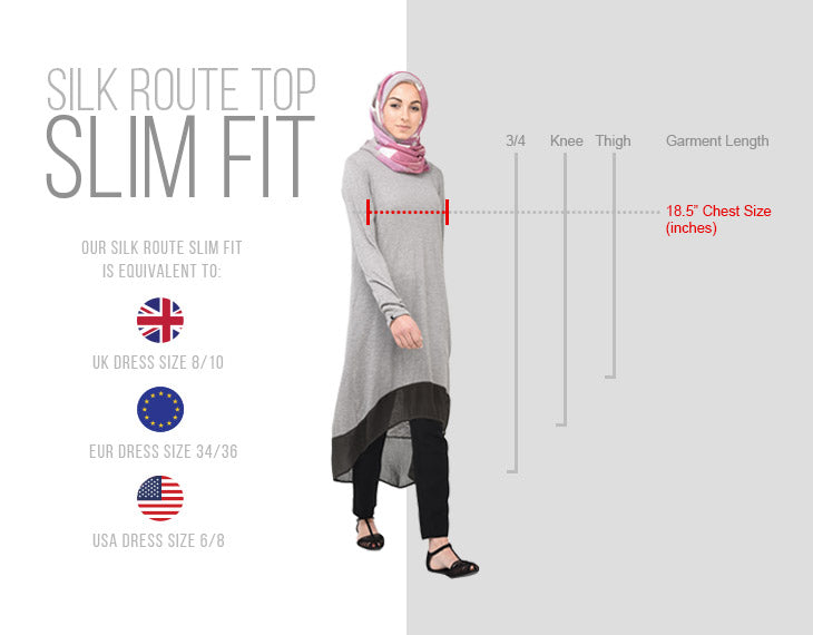 Modest Clothing Tops Slim Fit