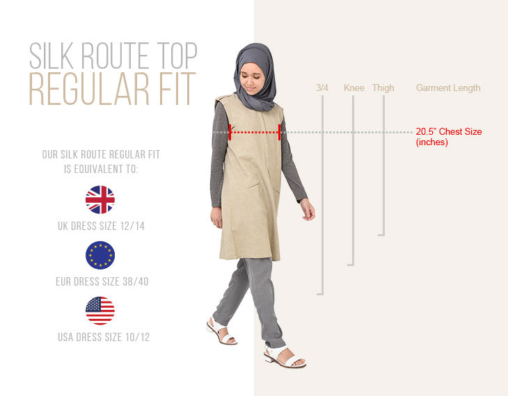 Modest Clothing Tops Regular Fit