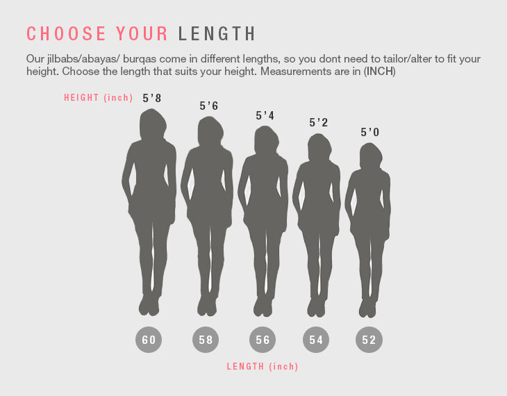 Modest Clothing Choose Your Length