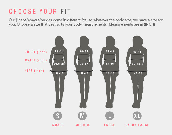 Modest Clothing Choose your Fit