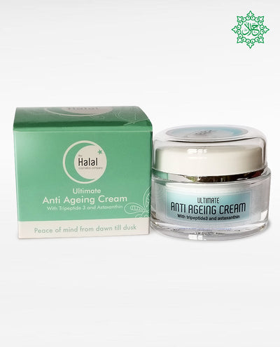 Halal Cosmetics Makeup Ultimate Anti-Aging Cream Product