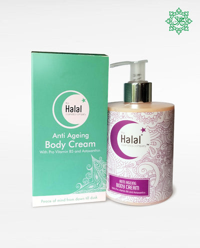 Halal Anti-Aging Body Cream Bottle