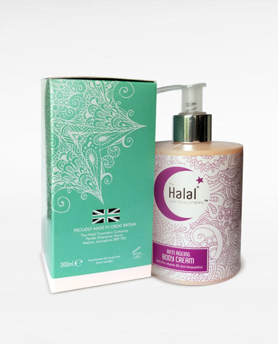 Halal Anti-Aging Body Cream Box