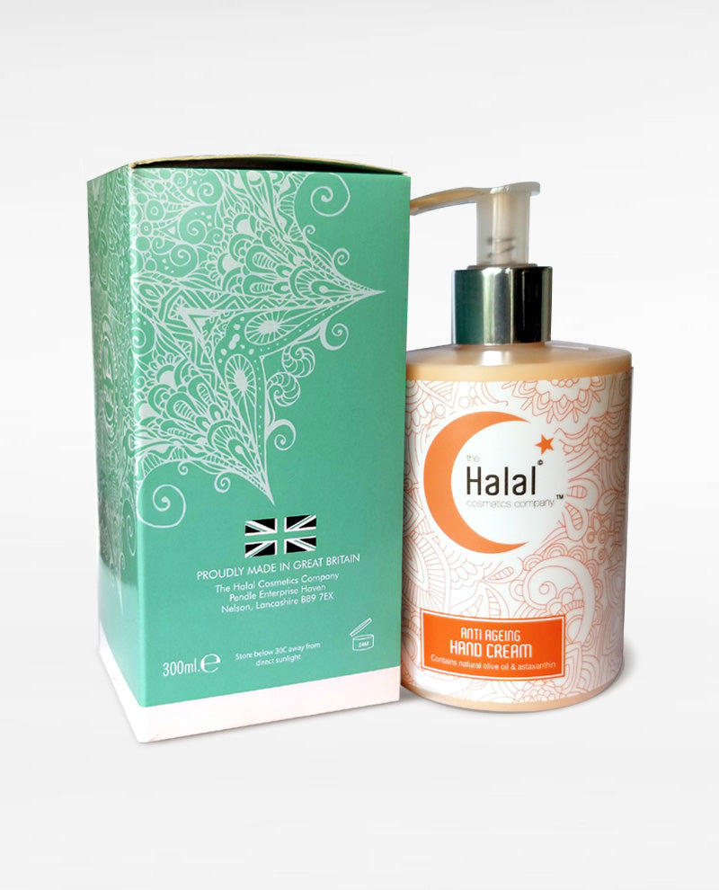 Halal Anti-Aging Hand cream Fortified with Natural Olive Oil