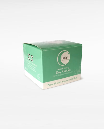 Halal Moisturizing Day Cream Box Packing