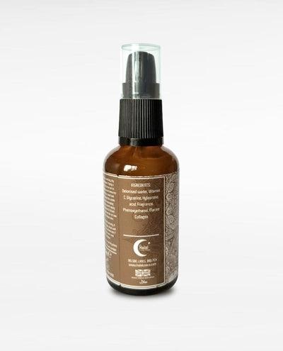 Halal Men's Moisturizing Serum Face Beard Oud Back Side