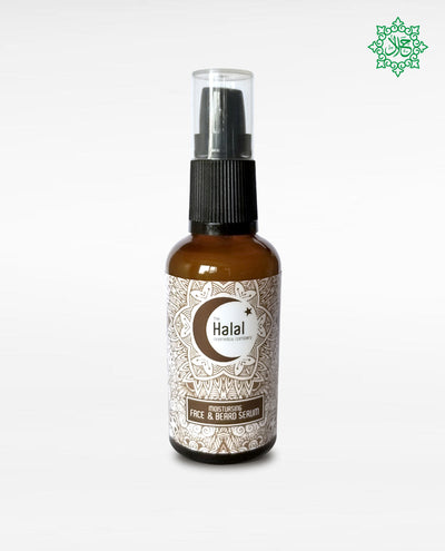 Halal Seal Men's Moisturizing Serum Face Beard