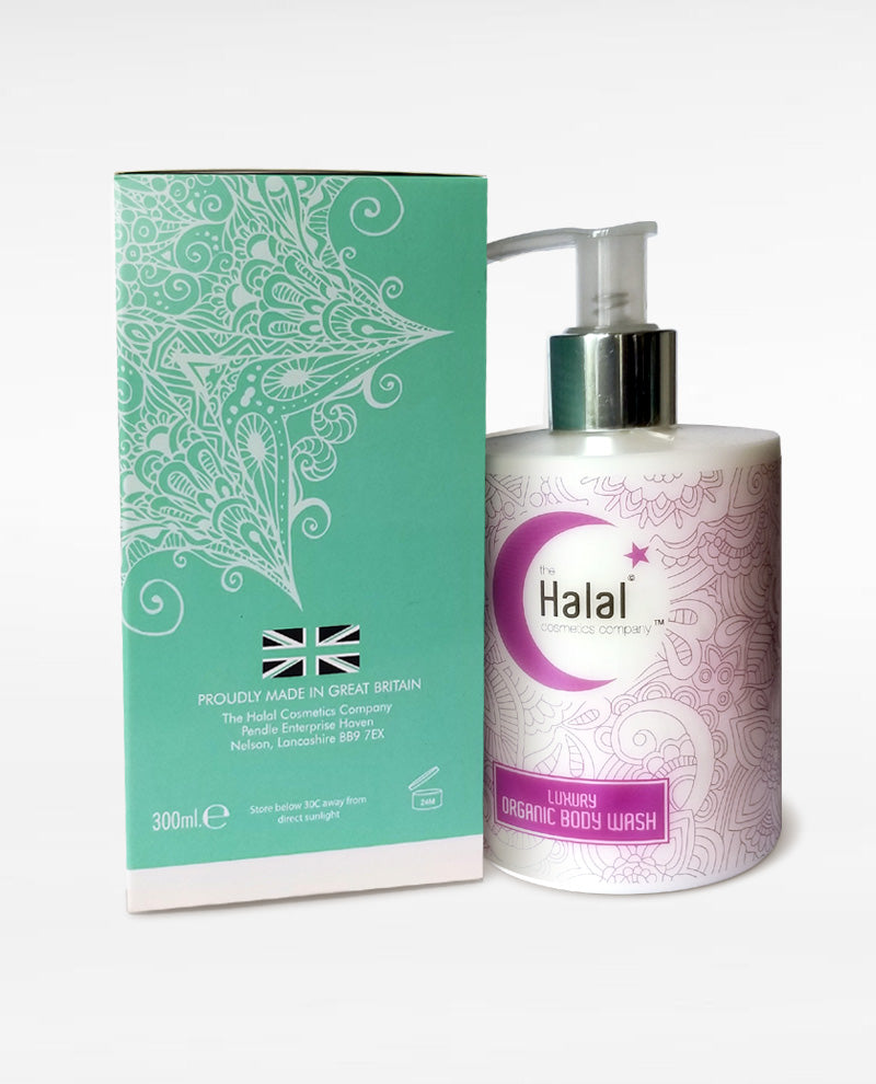 Halal Cosmetics Luxury Organic Body Wash