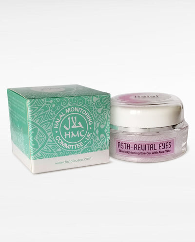 Halal Asta Revital Eyes Cream Box Packing right side
