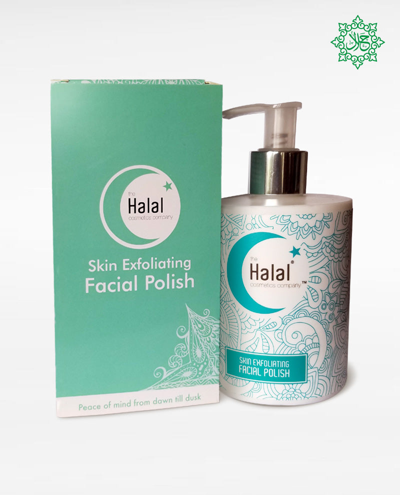 Halal Skin Exfoliating Facial Polish | Gentle Scrub for
