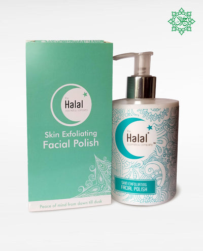 Halal Skin Exfoliating Facial Polish Box Combo