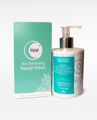 Halal Skin Exfoliating Facial Polish Ribbon