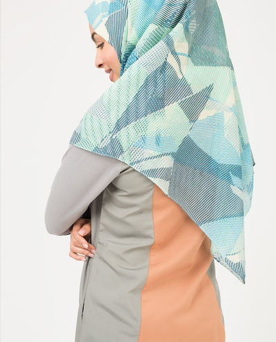 Ballard Blue Viscose Hijab Regular Ballard Blue