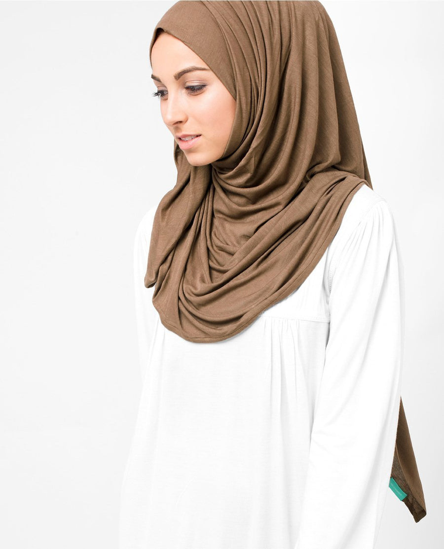 Brown Sugar Viscose Jersey Hijab