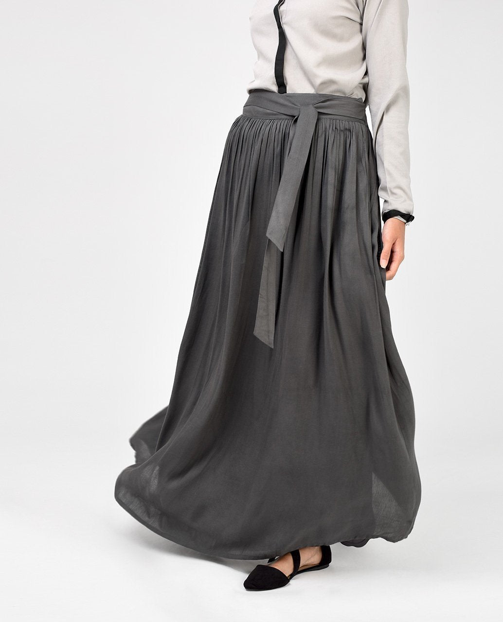 durable in use save up to 60% original Charcoal Grey Skirt