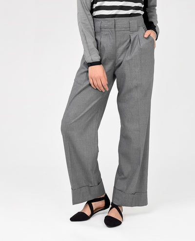 Charcoal Grey Trousers Slim Petite (W28 L28) Charcoal Grey