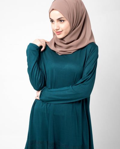 Elegant Teal Top Slim