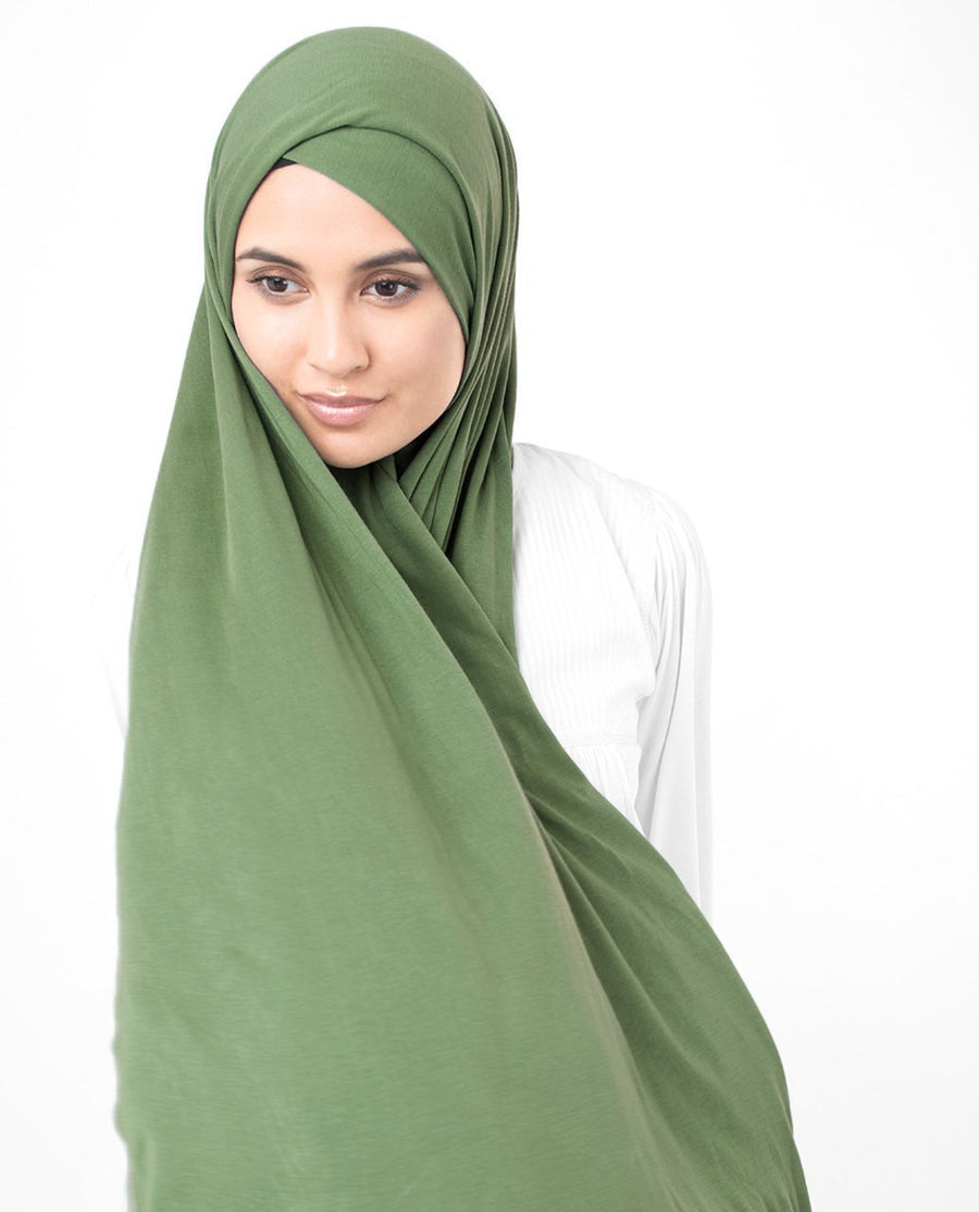 English Ivy Jersey Hijab