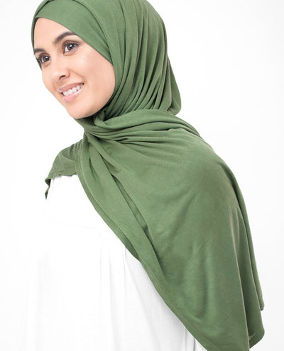 English Ivy Viscose Jersey Hijab Regular English Ivy