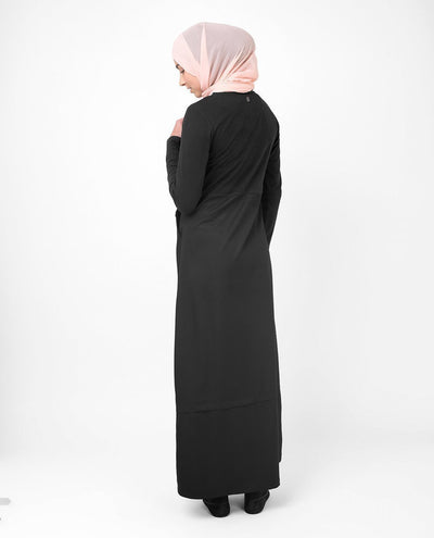 Gorgeous Black Smart Sister Abaya Jilbab S 54 Black