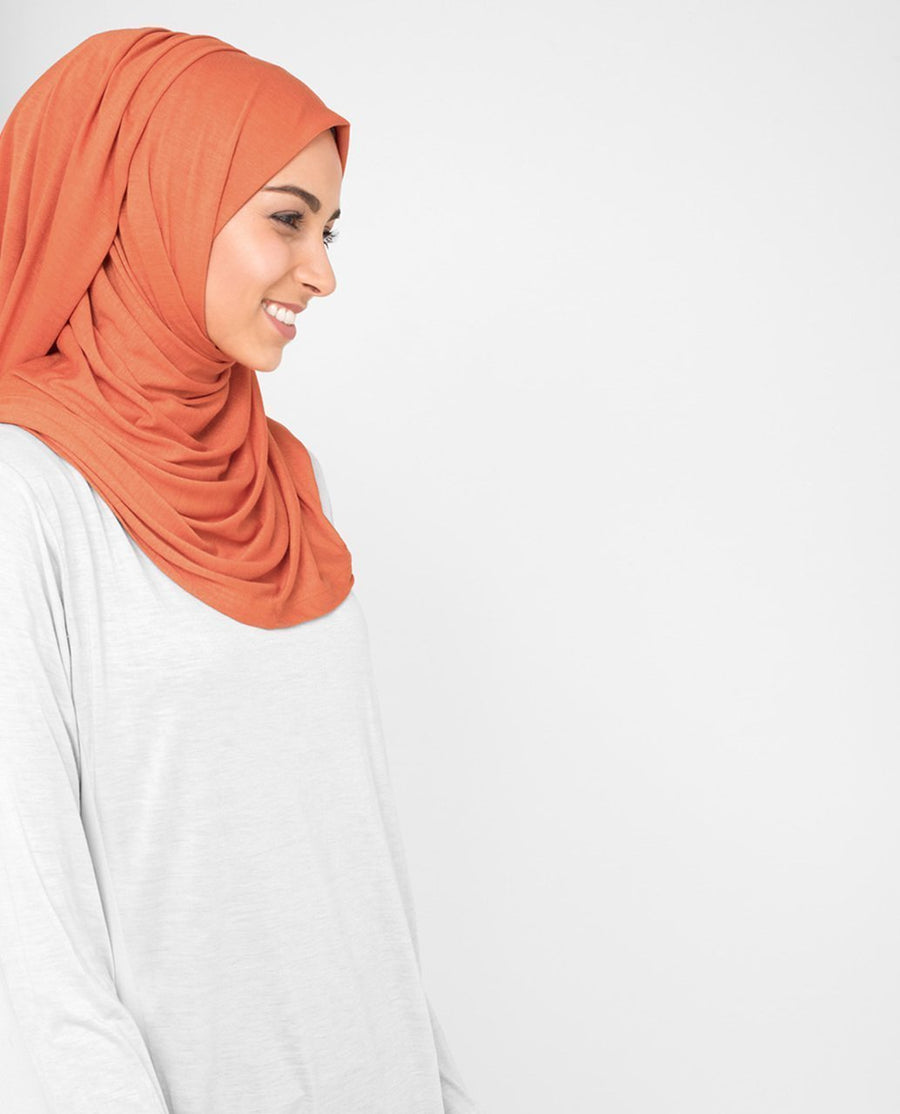 Koi Orange Hijab