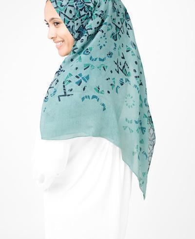 Starlight Blue Hijab Regular Starlight Blue