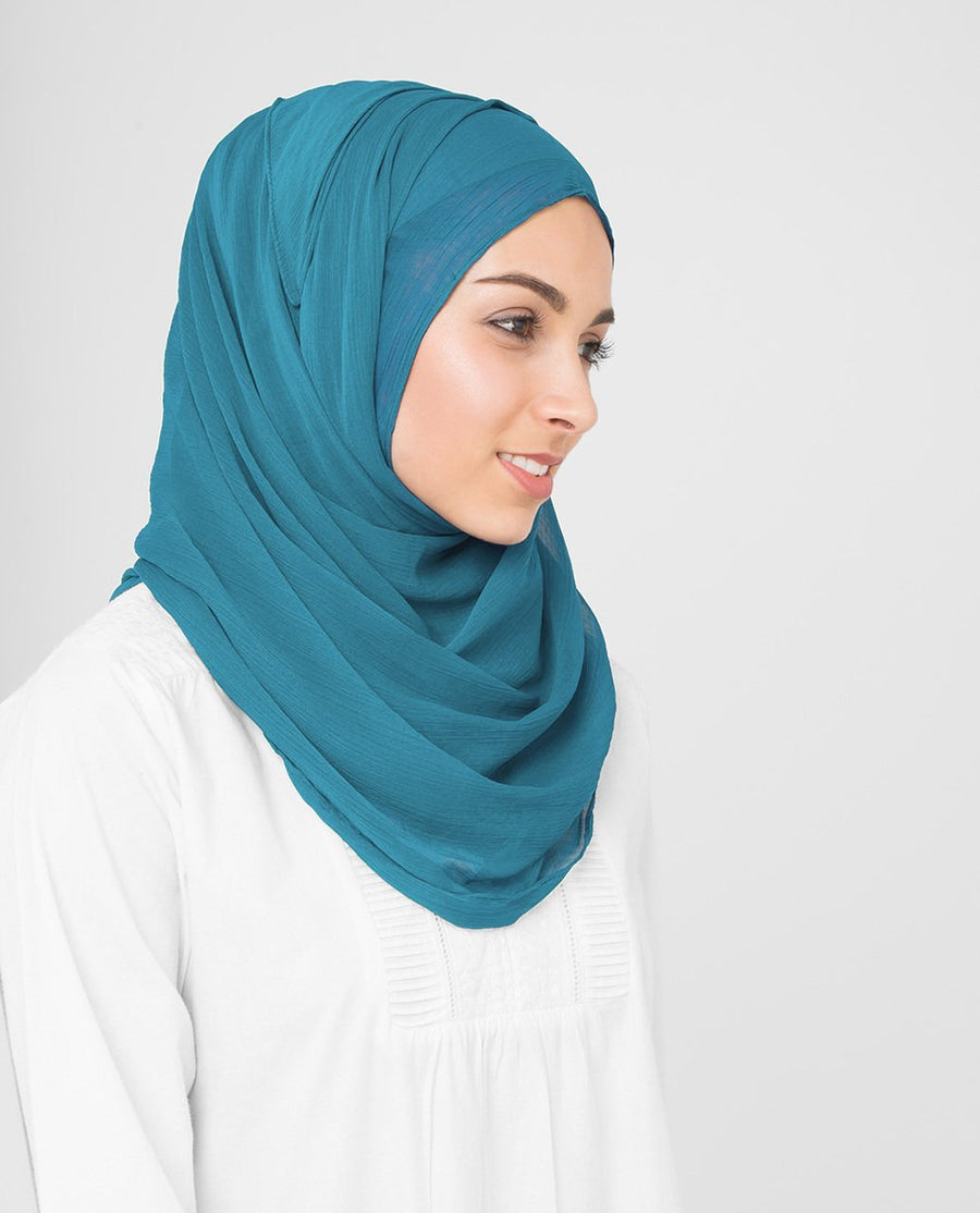 Turkish Tile Chiffon Hijab