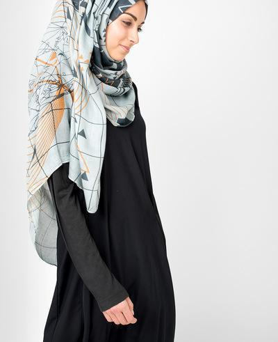 Urban Smoked Pearl Hijab Regular