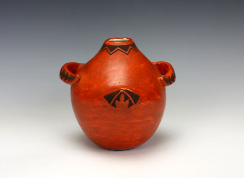 Acoma Pueblo Native American Indian Pottery Duck Jar - Flo & Lee Vallo