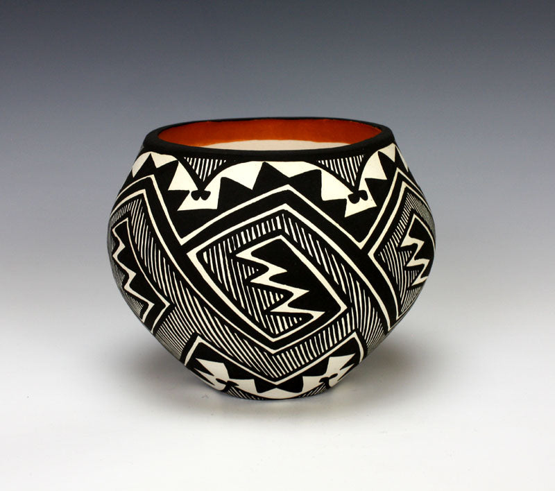 Acoma Pueblo Native American Pottery Rain Jar - Keith Joe Sr.