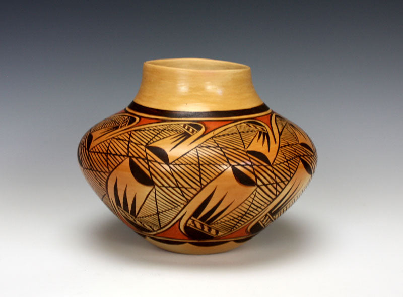 Hopi American Indian Pottery Migration Jar #1 - Adelle Nampeyo