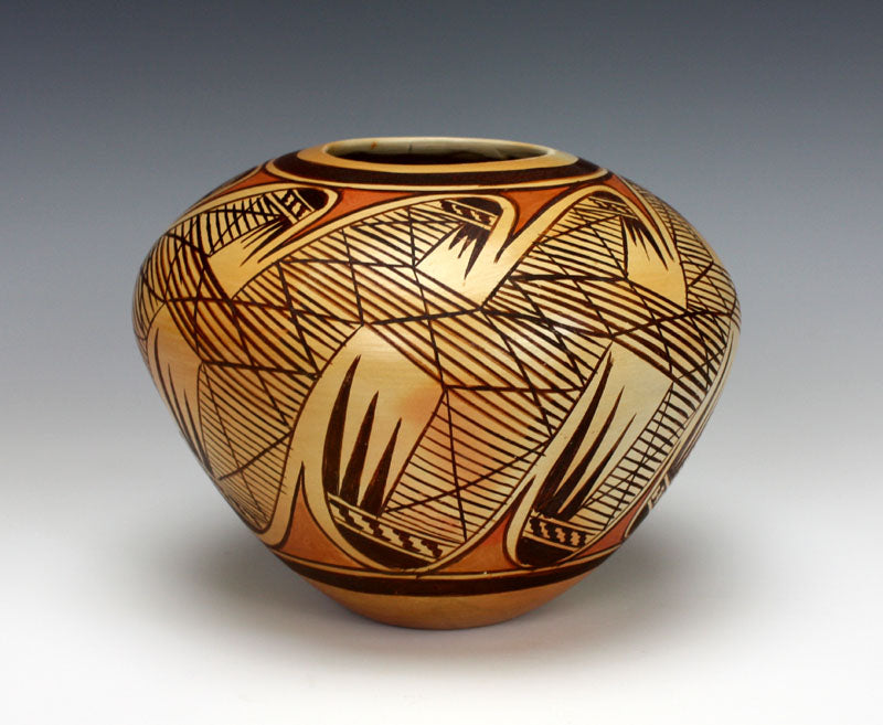Hopi American Indian Pottery Migration Seed Jar  - Adelle Nampeyo