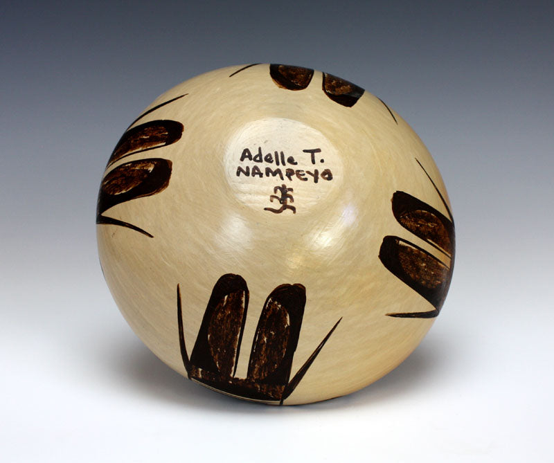 Hopi American Indian Pottery Eagle Tail Seed Jar #5 - Adelle Nampeyo