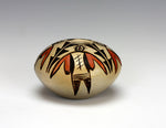 Hopi American Indian Pottery Small Moth Seed Jar - Adelle Nampeyo
