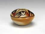 Hopi American Indian Pottery Small 4 Bird Seed Jar - Adelle Nampeyo