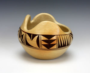 Hopi American Indian Pottery Bowl - Chereen Lalo Nampeyo