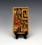 Hopi American Native American Pottery Tile #2 - Gloria Mahle