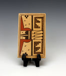 Hopi American Native American Pottery Tile #4 - Gloria Mahle