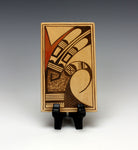 Hopi American Native American Pottery Tile #5 - Gloria Mahle