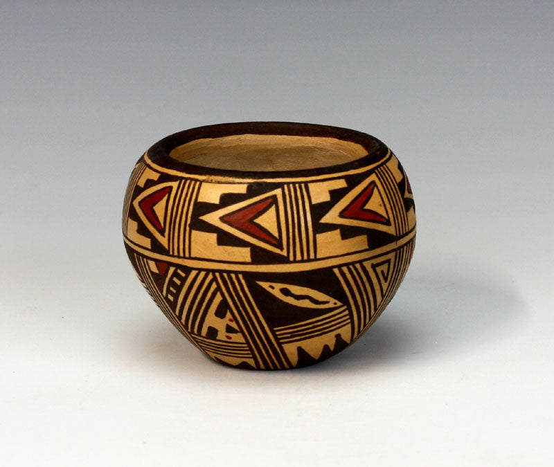 Hopi Native American Indian Pottery Purification Bowl - Louden Silas