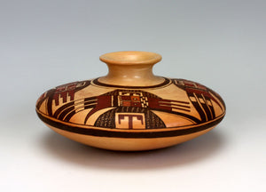 Hopi Native American Indian Pottery Jar - Nyla Sahmie