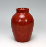 Santa Clara Pueblo Indian Pottery Red Bear Paw Jar #1 - Alvin Baca