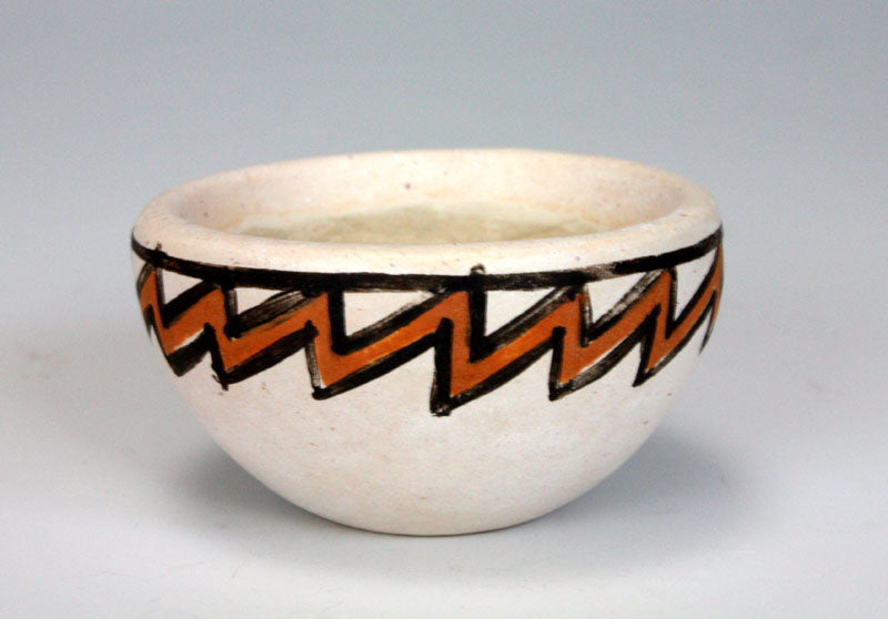 Laguna Pueblo Native American Indian Pottery Mini Bowl - Adrian Arnett