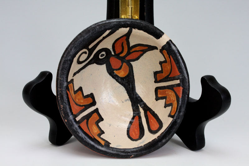 Kewa - Santo Domingo Pueblo Indian Pottery Hummingbird Bowl - Rose Pacheco