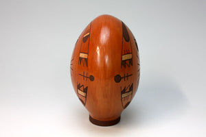 Hopi American Indian Pottery Bird Globe - Emerson Ami