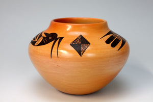 Hopi American Indian Pottery Bird Jar - Garrett Maho