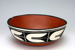 Kewa - Santo Domingo Pueblo American Indian Pottery Chili Bowl - Melinda Garcia