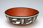 Kewa - Santo Domingo Pueblo American Indian Pottery Chili Bowl #1 - Melinda Garcia
