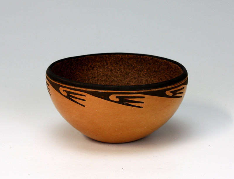 Hopi American Indian Pottery Friendship Bowl #2 - Bernadette Poleahla Crook