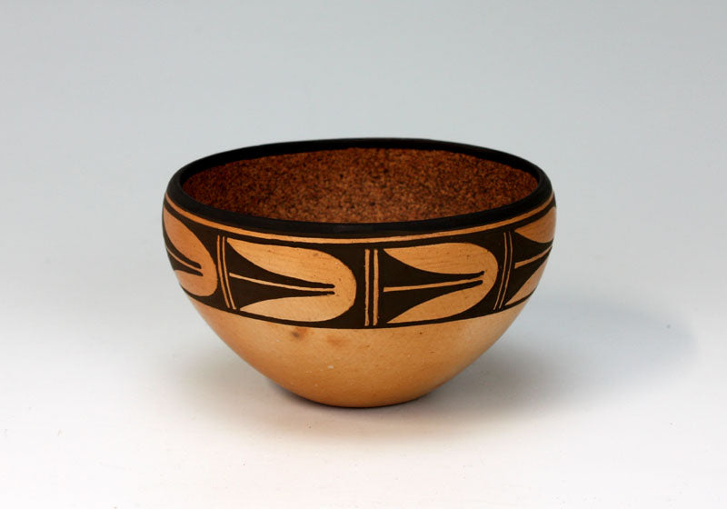 Hopi American Indian Pottery Friendship Bowl #3 - Bernadette Poleahla Crook